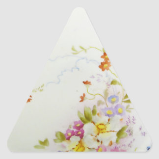 Weimar ornament 1930 vintage triangle stickers