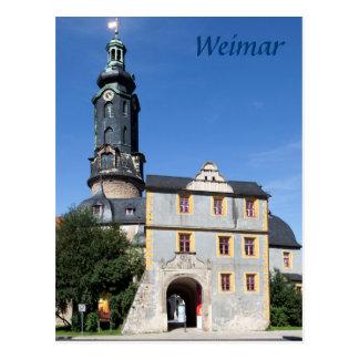 Weimar photo postcard