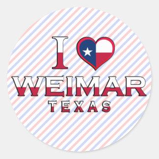 Weimar Texas Sticker