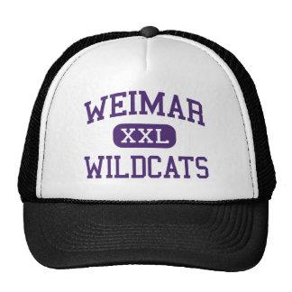 Weimar - Wildcats - Junior - Weimar Texas Hat
