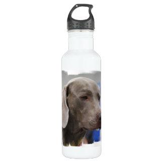 weimaraner-19.jpg 24oz water bottle