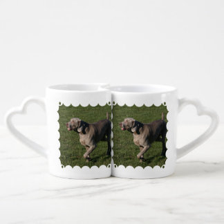 weimaraner-6 lovers mug set