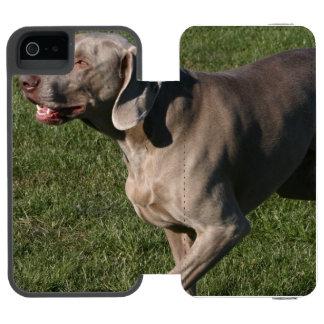 weimaraner-6 incipio watson™ iPhone 5 wallet case