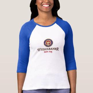 Weimaraner Bird-Dog Paulaner Logo Folded T-Shirt