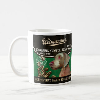 Weimaraner Brand – Organic Coffee Company Coffee Mug