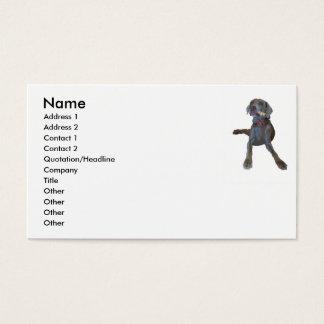 Weimaraner Business Cards