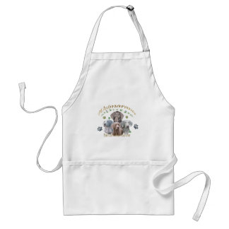 Weimaraner Can't Have Just One Adult Apron