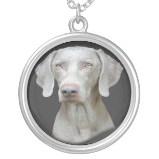 Weimaraner Can't Have Just One Necklace