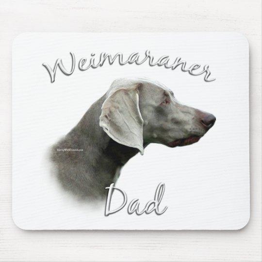 Weimaraner Dad 2 Mouse Pad