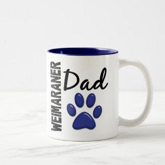 Weimaraner Dad 2 Coffee Mugs