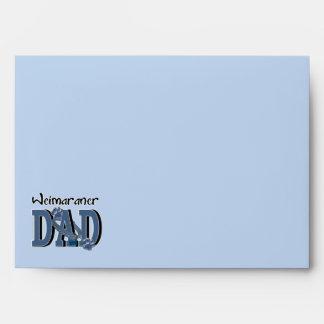 Weimaraner DAD Envelope