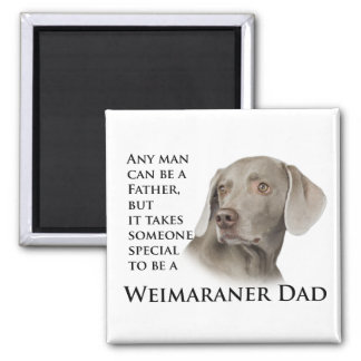 Weimaraner Dad Magnet