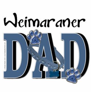 Weimaraner DAD Photo Cutout