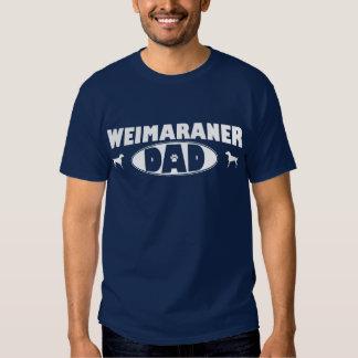 Weimaraner Dad T Shirt
