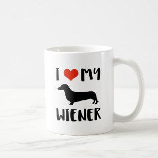 Weimaraner design coffee mug