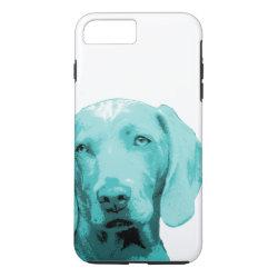 Case-Mate Tough iPhone 7 Plus Case with Weimaraner Phone Cases design