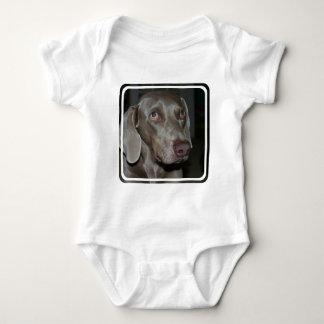 Weimaraner Dog Baby T-Shirt