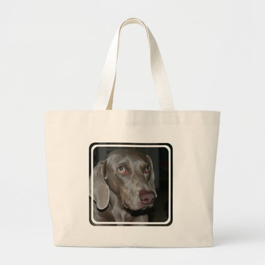 Weimaraner Dog Canvas Bag