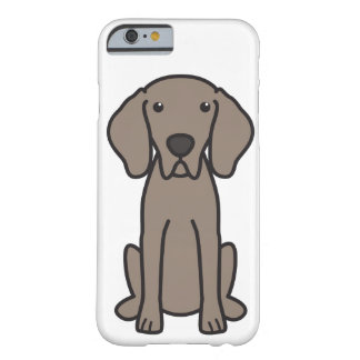 Weimaraner Dog Cartoon Barely There iPhone 6 Case