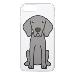 Case-Mate Tough iPhone 7 Plus Case with Weimaraner Phone Cases design