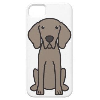 Weimaraner Dog Cartoon iPhone SE/5/5s Case