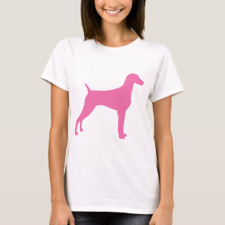 Weimaraner Dog (in pink) T-Shirt