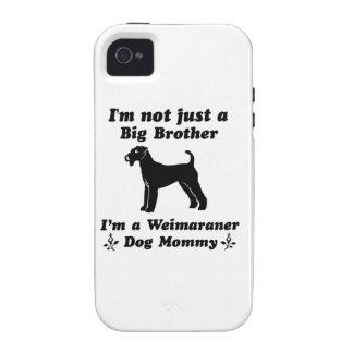 Weimaraner Dog mommy Designs iPhone 4 Case