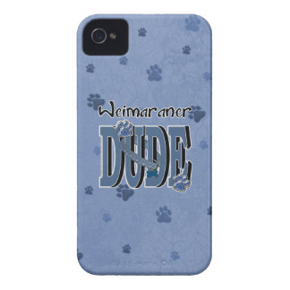 Weimaraner DUDE iPhone 4 Cases
