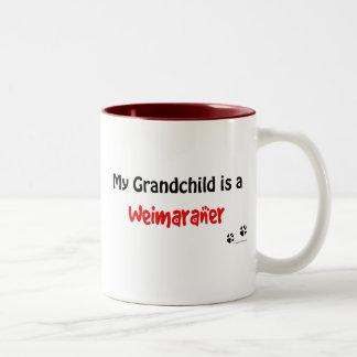 Weimaraner Grandchild Coffee Mugs