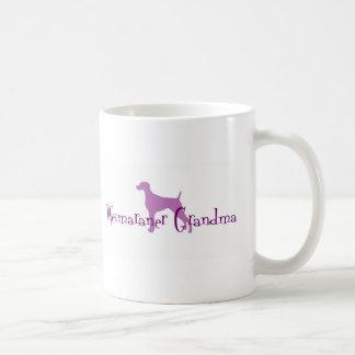 Weimaraner Grandma Mugs