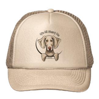 Weimaraner IAAM Trucker Hat