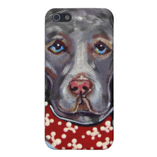 Weimaraner Cover For iPhone 5