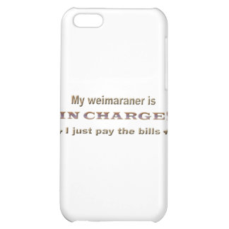 weimaraner iPhone 5C case