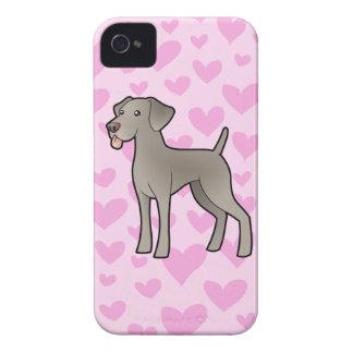 Weimaraner Love iPhone 4 Covers
