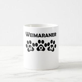 Weimaraner Mom 11 Oz Magic Heat Color-Changing Coffee Mug