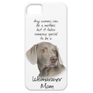 Weimaraner Mom iPhone 5 Case