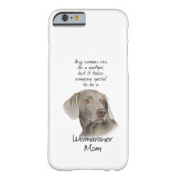 Case-Mate Barely There iPhone 6 Case with Weimaraner Phone Cases design