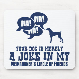 Weimaraner Mouse Pads