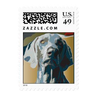 Weimaraner Nation : 1943 Weimaraner Stamps