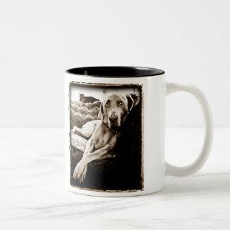 Weimaraner Nation : Ballou's Chair Mug