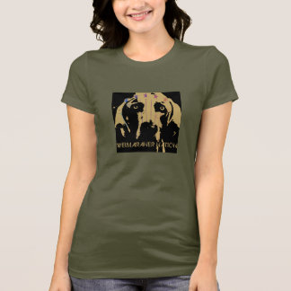 Weimaraner Nation : Official Logo T-Shirt