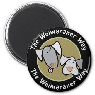 Weimaraner Nation : The Weimaraner Way Magnet