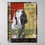 Weimaraner Nation : Vintage Weimaraner Poster