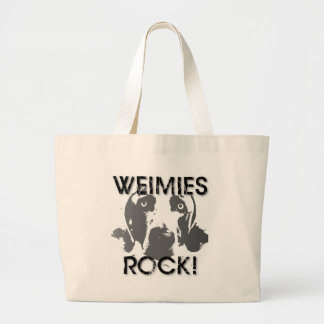 Weimaraner Nation : Weimies ROCK! Bag