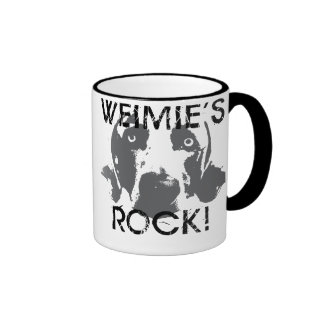 Weimaraner Nation : Weimies ROCK! Mug