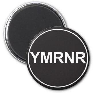 Weimaraner Nation : YMRNR Graphic 2 Inch Round Magnet