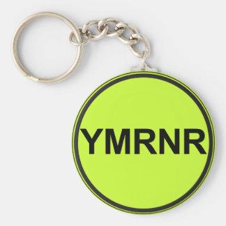 Weimaraner Nation : YMRNR Graphic Basic Round Button Keychain