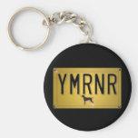 Weimaraner Nation : YMRNR License Plate Keychain