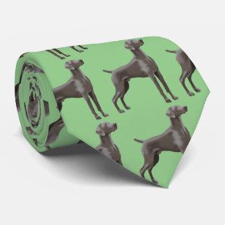 Weimaraner Neck Tie