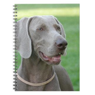 Weimaraner Notebook